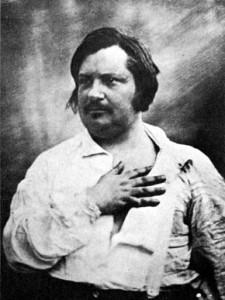 Balzac, daguerréotype, Louis Bisson, 1842